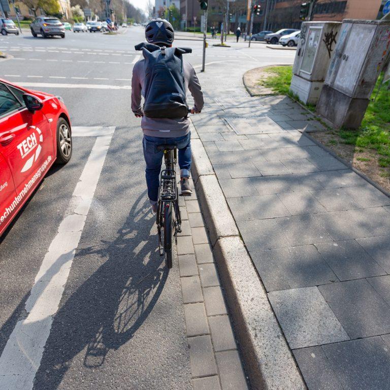 Rechte von Radfahrern