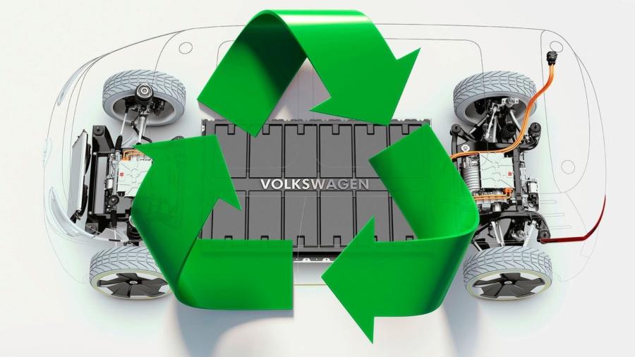 Recycling Akku Batterie