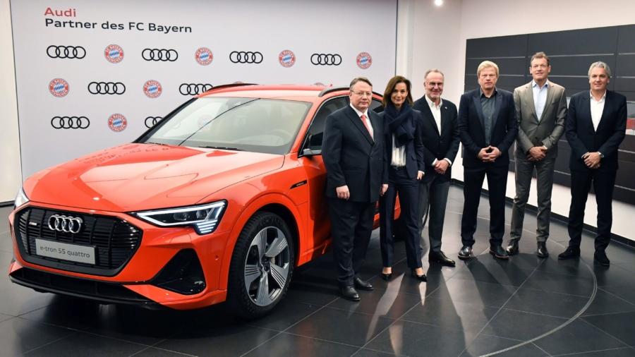Audi Bayern Dienstwagen