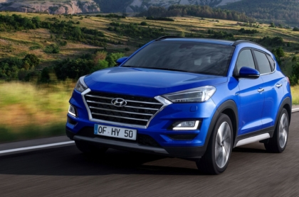 Mild-Hybrid Hyundai Tucson