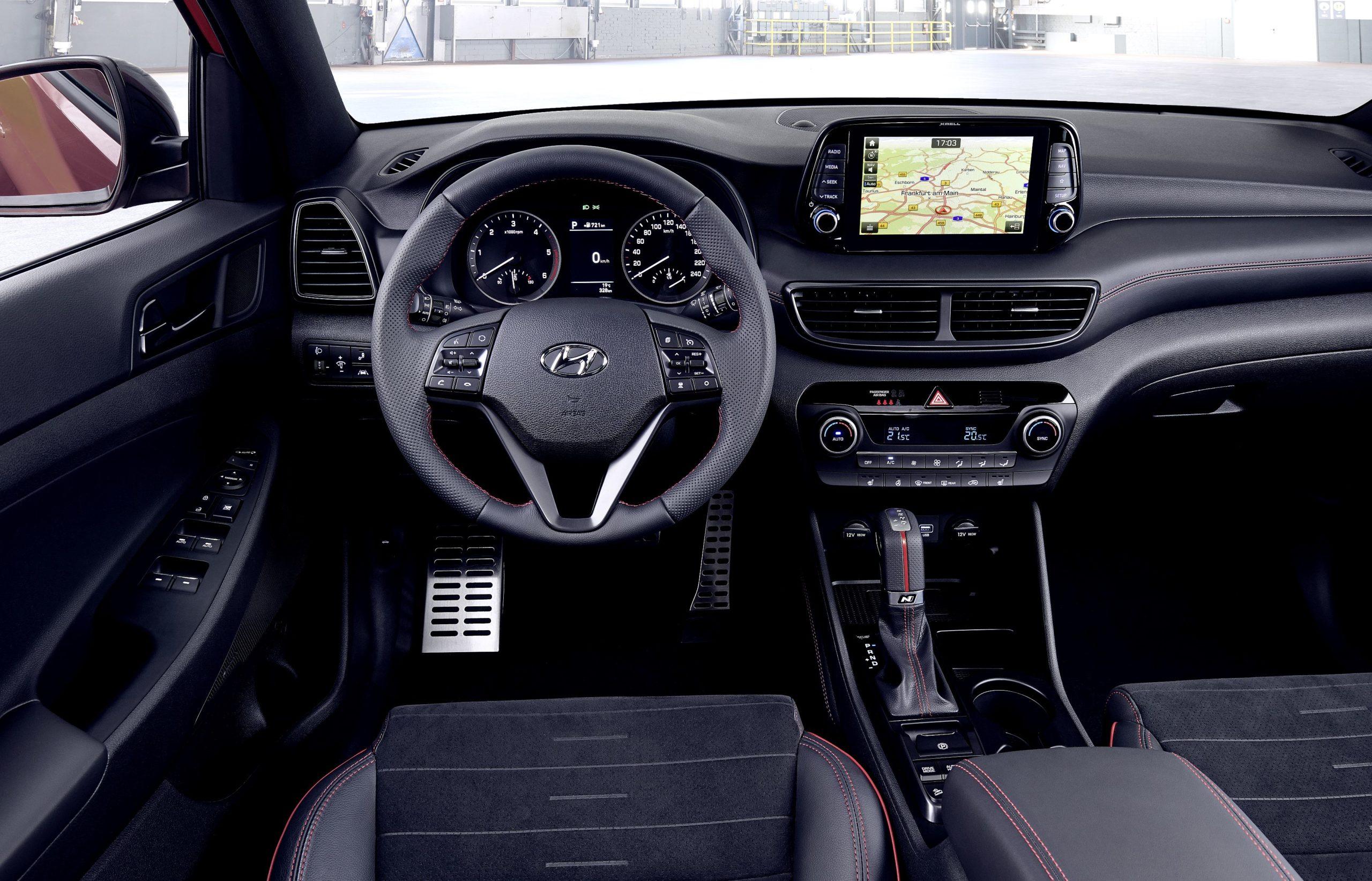 Mild-Hybrid Tucson Hyundai