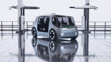 Jaguar Vector autonome