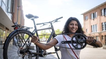 Riemen Fahrrad Kette