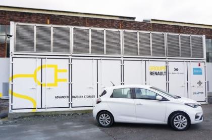 Renault Energiespeicher