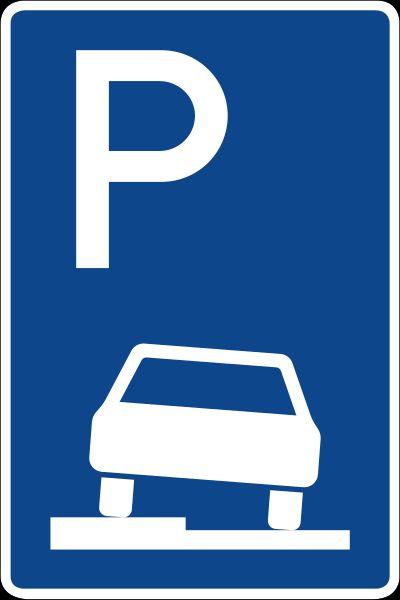 Parken Gehweg